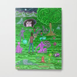 Book Sketch Alter no.1 Metal Print