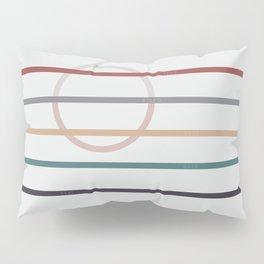 for Love    stripes & circle Pillow Sham