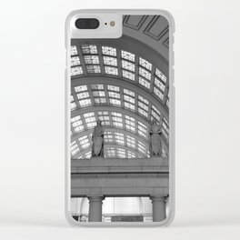 Union Station, No. 4 Clear iPhone Case