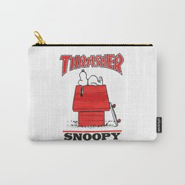 Thrasher Snoopy Carry-All Pouch