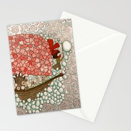 Bubble Waves Stationery Cards