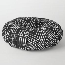 Map 1920's Floor Pillow