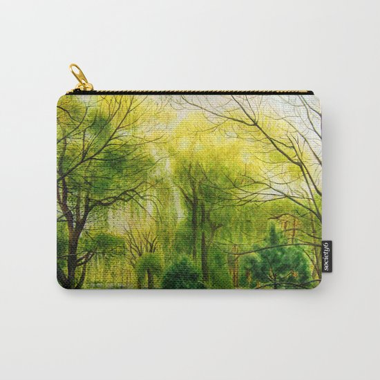 Waiting for Spring Carry-All Pouch