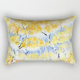 Under the Birch Forest Rectangular Pillow