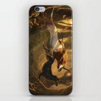 unicorns iPhone & iPod Skins featuring Unicorns by ErikaStudio