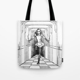 Bloody Alice Tote Bag