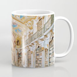 The Magnificent Admont Abbey Library of Admont, Austria Photograph Coffee Mug