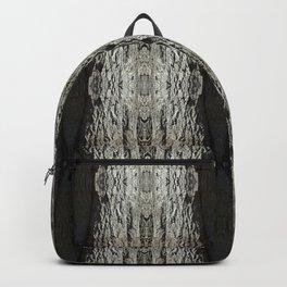 Oak Tree Bark Vertical Pattern by Debra Cortese Designs Backpack