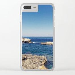 Ocean Surprise Clear iPhone Case
