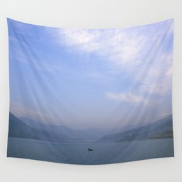 the fisherman's commute Wall Tapestry
