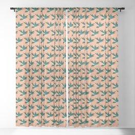 Tropicalia Blush Sheer Curtain