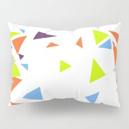 Colorful Triangles Pillow Sham