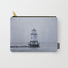 Burlington Breakwater North Lighthouse Carry-All Pouch