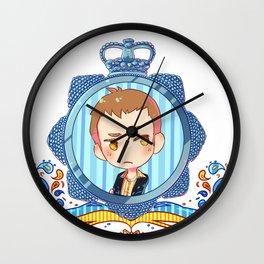 DI Sam Cutiepoops Tyler Wall Clock