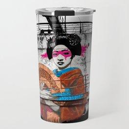 Geisha Graffiti Travel Mug
