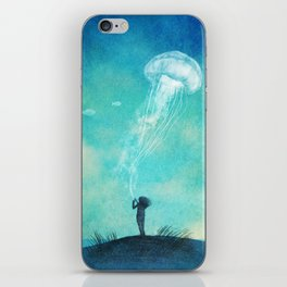 The Thing About Jellyfish  iPhone Skin