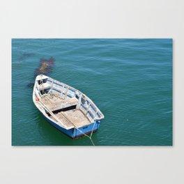 Boat in sea Canvas Print