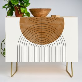 Abstract Flow Credenza