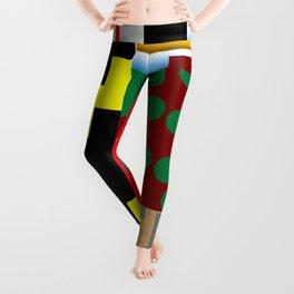 Pieces of fabrics Leggings