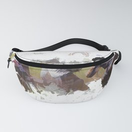 Dirt-bike Racers Fanny Pack