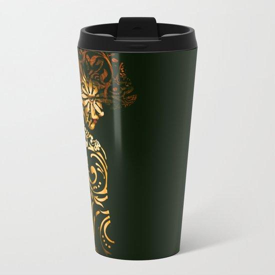 Flora.. Metal Travel Mug