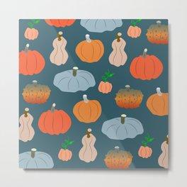 Halloween pumpkin fest Metal Print