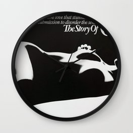 Vintage Film Poster - Story of O (1975) Wall Clock