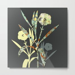 Floral Decor III Metal Print