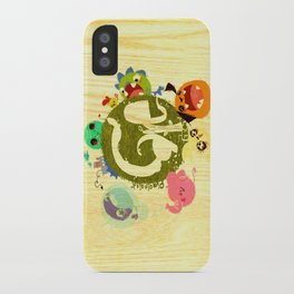 CARE - Love Our Earth iPhone Case