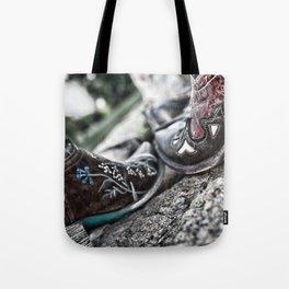 Boot Scoot Tote Bag