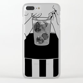 We are dreamers Clear iPhone Case