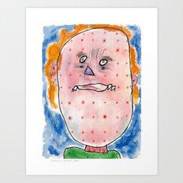 I feel ill Art Print