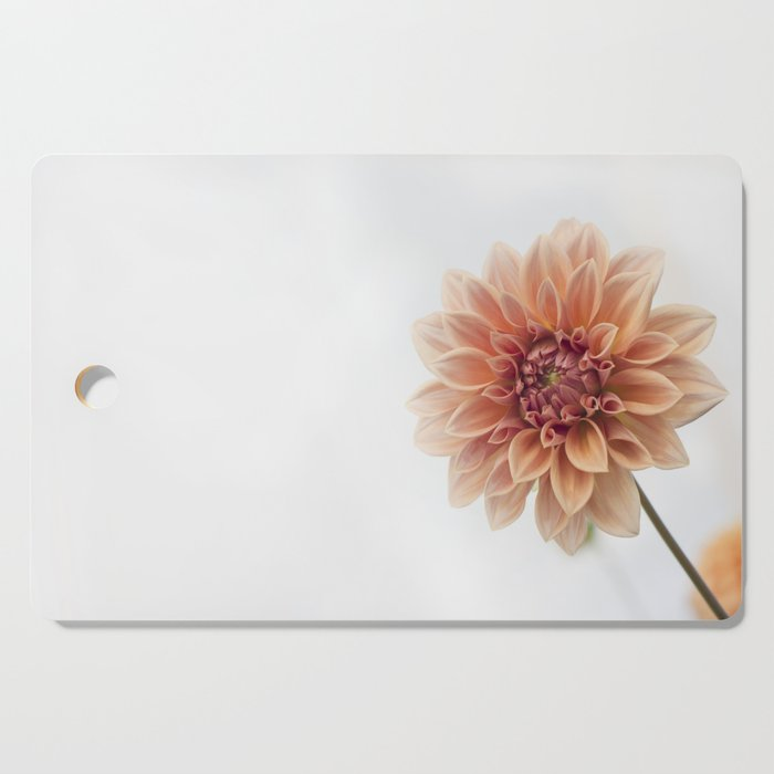Dahlia Flower Cutting Board