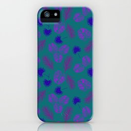 Tropical Tyme iPhone Case