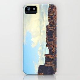 Sun Kissed Stone Pillars iPhone Case