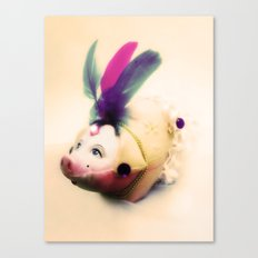 Lady Chancha Canvas Print