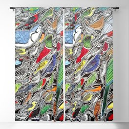 Toucans, parrots and tropical birds of Costa Rica Blackout Curtain