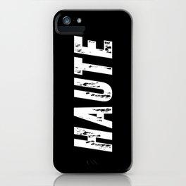 Haute - High Fashion inverse iPhone Case