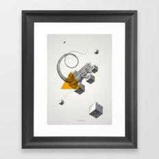 Archetypes Series: Elusiveness Framed Art Print