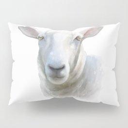 Watercolor Sheep Pillow Sham