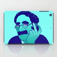 marx iPad Cases featuring Groucho by Kramcox