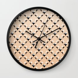 Mod Blush Wall Clock