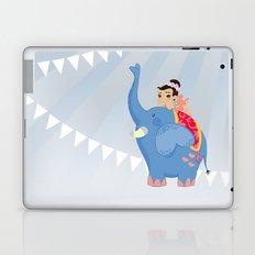 Blue Circus Laptop & iPad Skin