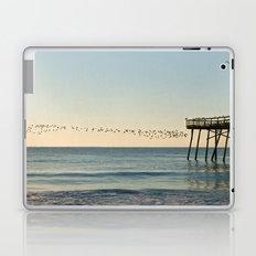 Oceanic Pier & Birds Laptop & iPad Skin
