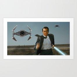 Run Jedi Run (North by Northwest) Art Print