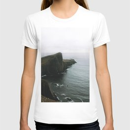 Neist Point Lighthouse II - Landscape Photography T-shirt