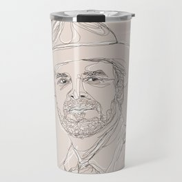 A Very Handsome Sheriff Travel Mug