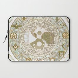 Let Love Be the Foundation Laptop Sleeve