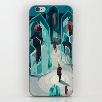 ice iPhone & iPod Skins featuring Ice age by Reno Nogaj