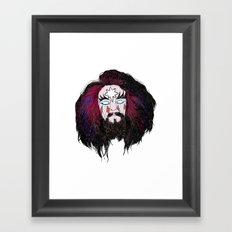 ROY WOOD IS THE KING Framed Art Print